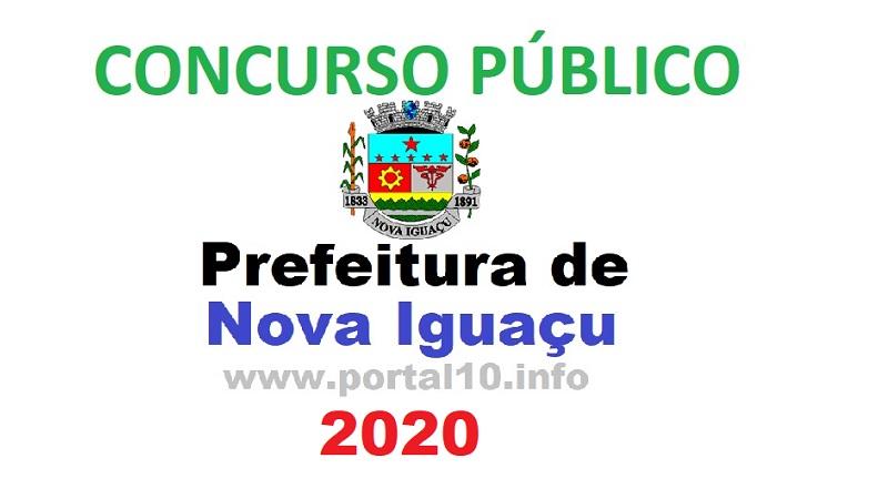 Concurso público para saúde de Nova Iguaçu 2020