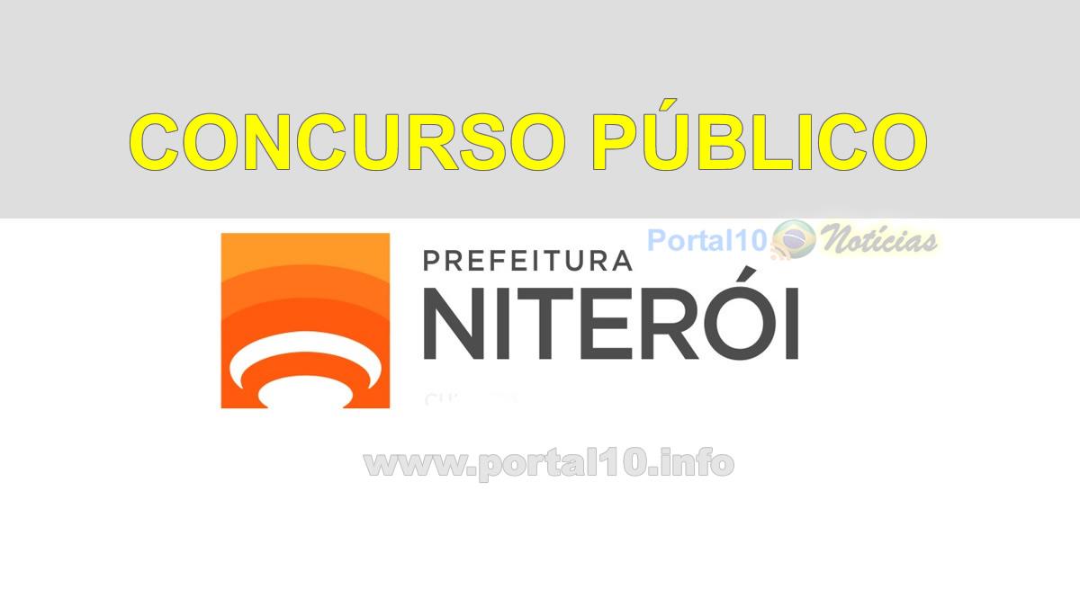 Aberto: Concurso Niterói / RJ área da Saúde em 2020 / 2021