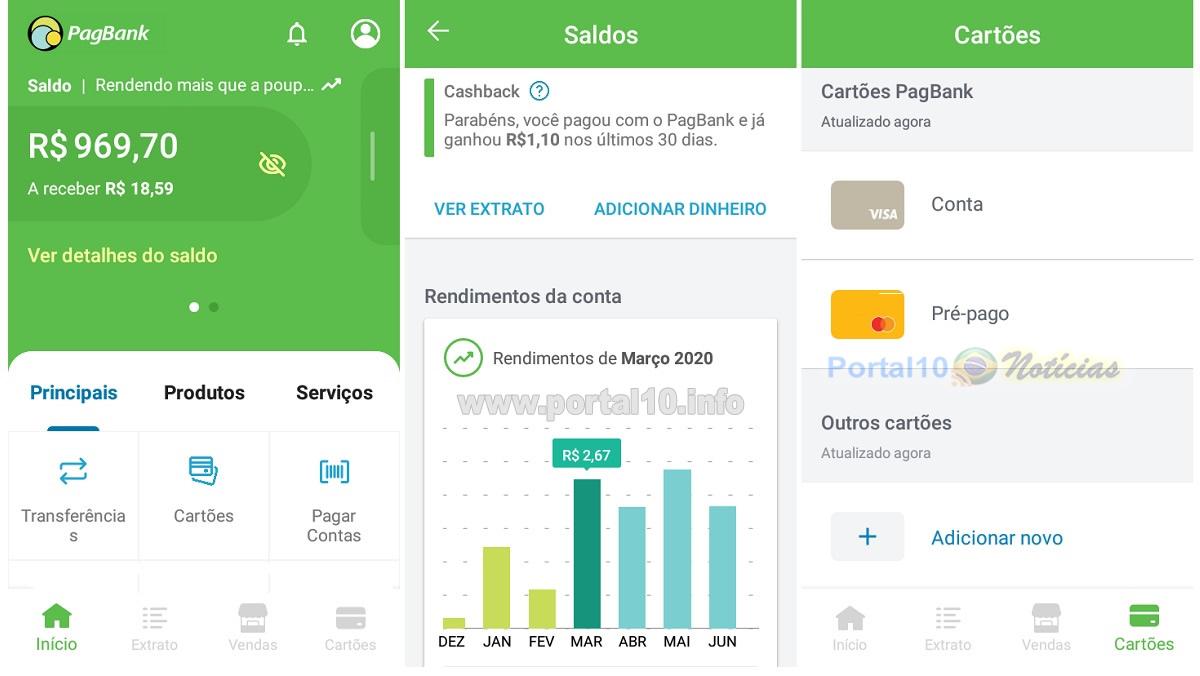 """O PagBank é bom? Review dos serviços oferecidos pela """"Conta rendeira"""""""