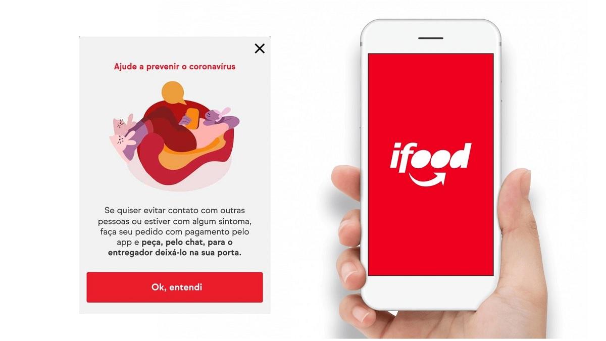 iFood: Medidas durante a pandemia de coronavírus (COVID-19)