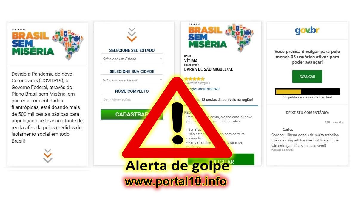 Cesta Básica Gratuita do Programa Brasil sem Miséria pelo whatsapp?