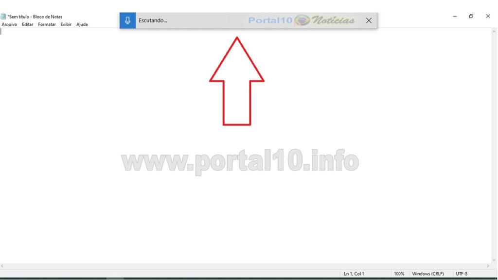 ditado windows 10 Conheça a função ditado: Você fala e o windows escreve