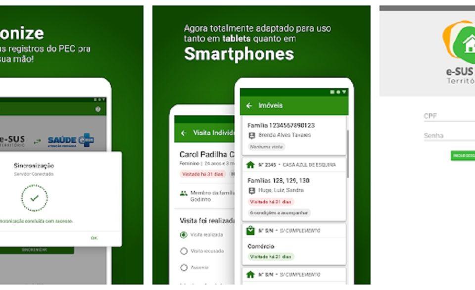 Atualização do aplicativo oficial do e-SUS para android traz novidades