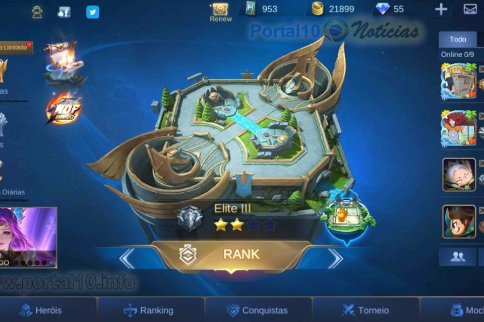 Mobile Legends Bang Bang: Jogo Multiplayer Online