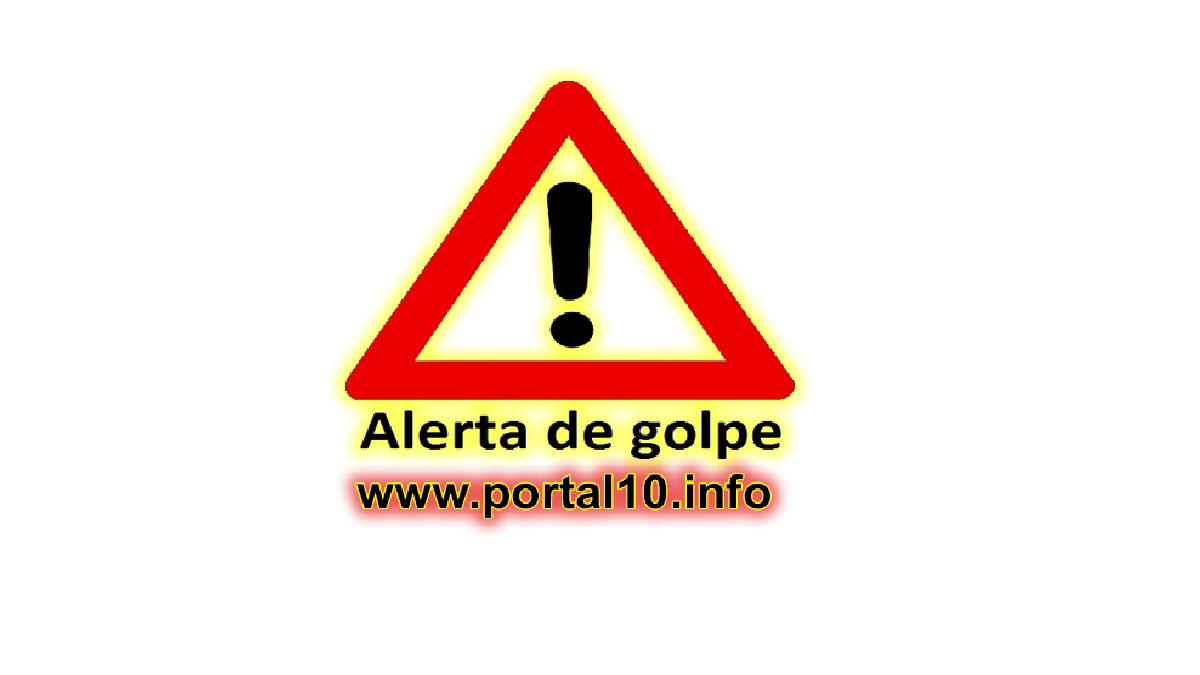 selo alerta de golpe Cadastro Pix: Cuidado com os golpes circulando na internet