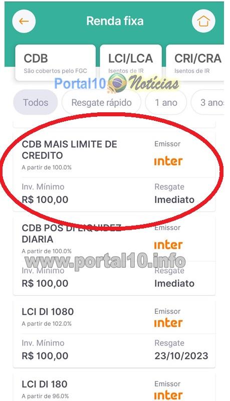 cdb mais limite inter 1 CBD + Limite: As Vantagens do Cartão de Crédito para negativados do Inter