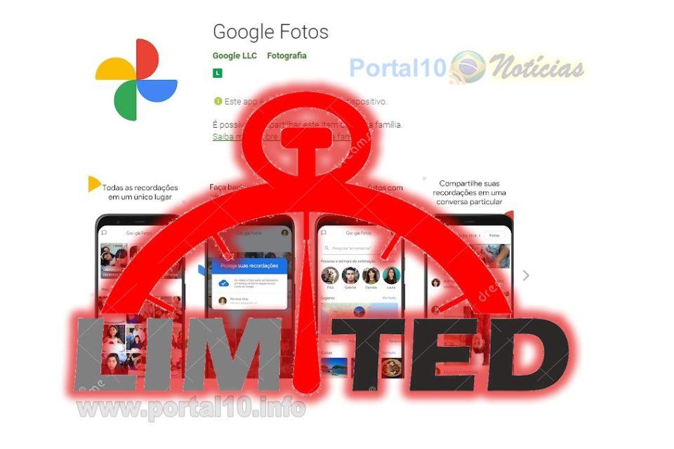 Acabou a moleza: Google Fotos vai limitar o espaço gratuito do usuário