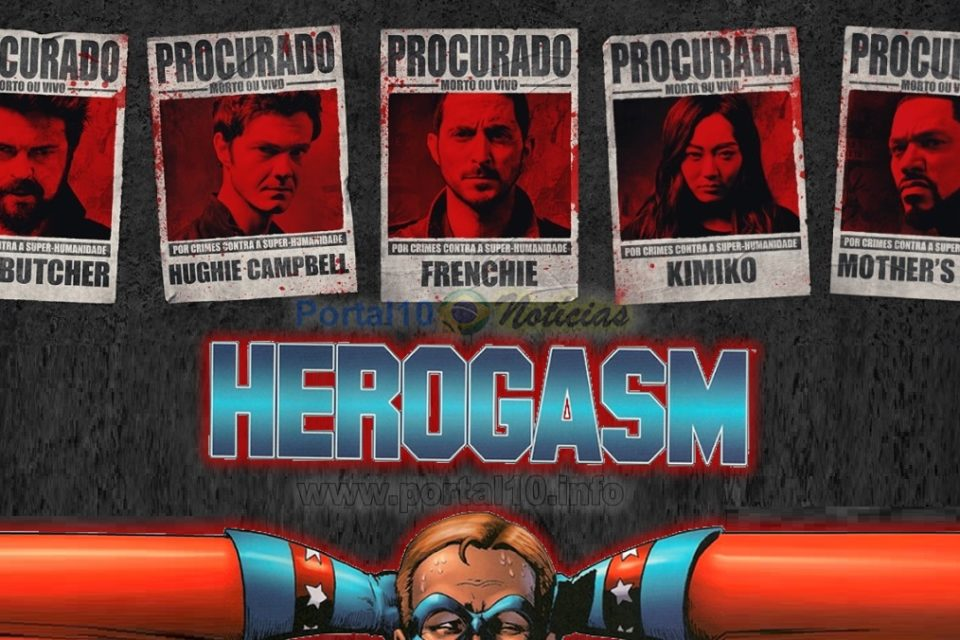 "The Boys 3ª temporada Dublado online: ""Herogasm""?"